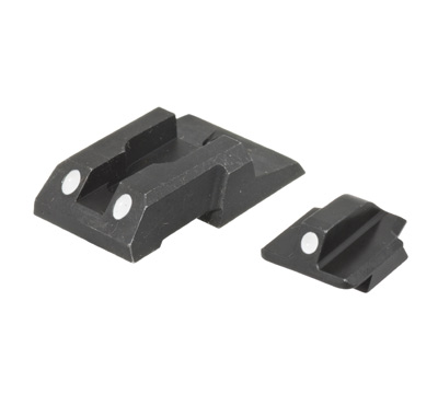 Security-9® HIVIZ® Steel White Dot Sight Set