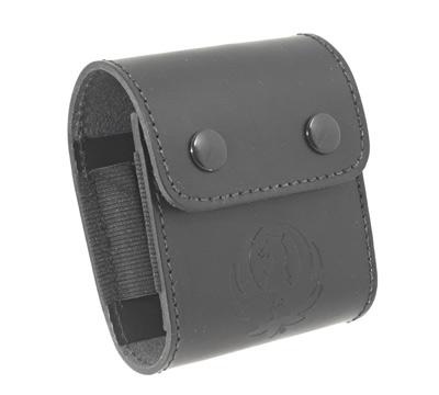 Leather Cartridge Wallet - Black