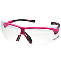 Pink-Clear Safety Glasses
