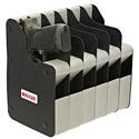 Six Firearm Vertical Handgun Rack