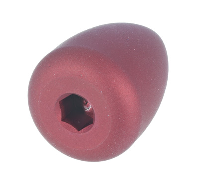 Custom Bolt Knob - Red