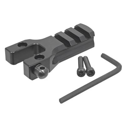 Mini-14® & Mini Thirty® Picatinny Mount  - Black W/ Swivel Stud - 180 Series Rifles