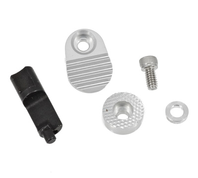 Mark Series Extended Magazine Release - Silver