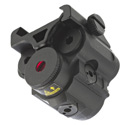UTG Sub-Compact Red Laser, Solid Strobe Mode Integral Mount