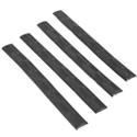 M-LOK® Wedgelock™ Slot Cover Grip - 4Pack Black