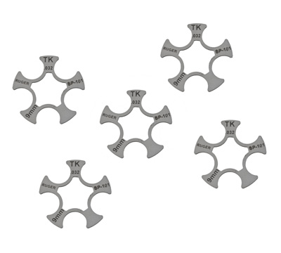 TK™ Custom Competition Moon Clips - SP101®, 9mm Luger - 5-Pack
