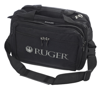 Ruger Deluxe Range Bag with a Removable Strap and Handgun Rug