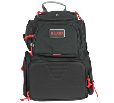 Handgunner Range Backpack w/ Four Handgun Cradle