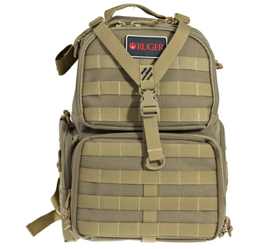 Tactical Range Backpack - Three Handgun Cases
