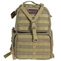 Tactical Range Backpack - Three Handgun Cases