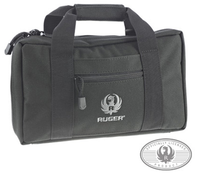 Double Handgun Case - Black