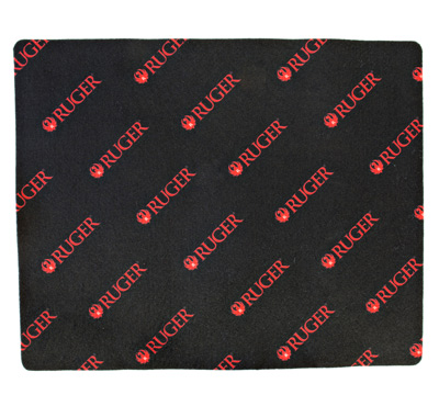 Black & Red Cleaning Mat - Handgun
