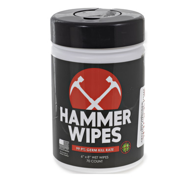 Hammer Sanitizing Wipes