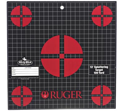 Ruger Splattering Target 100 Yard