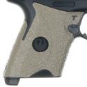 Security-9® Compact Talon Grip Wrap - Moss Green Rubber Text