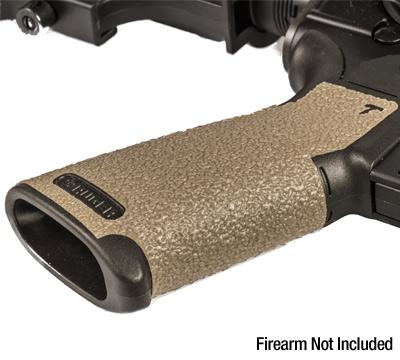 AR-Style Pistol Grip Wrap Grip - Moss