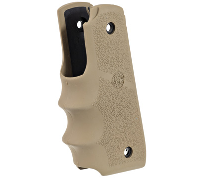 Mark IV™ 22/45™ Hogue® Rubber Grip w/Finger Grooves - Flat Dark Earth