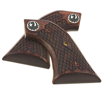 Ruger New Vaquero� Rosewood Spanish Diamond Grips