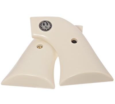 Single Action Smooth Bonded Simulated Ivory Grips