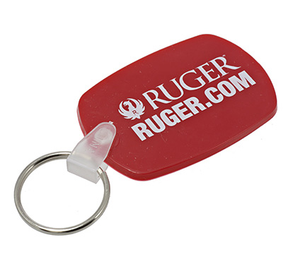 Soft Red Key Tag