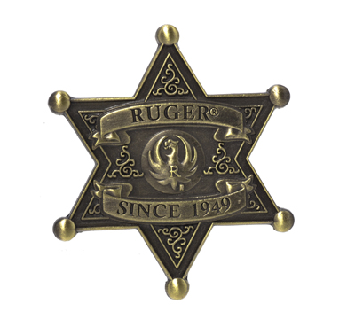 Ruger Sheriff's Badge Pin