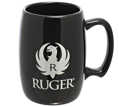 Black Barrel Mug