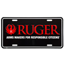 Ruger� Arms Maker For Responsible Citizens� Black License Plate
