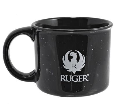 Black Campfire Mug