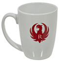 Ruger White Java Mug