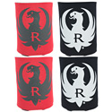 Black & Red Koozie Set of 4