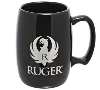 Black Barrel Mug