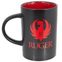 Black & Red Café Mug