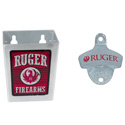 Wall Mount Bottle Opener / Cap Catcher Combo Set