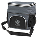 Gray and Black Cooler Bag