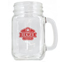 Handled Jar Glass
