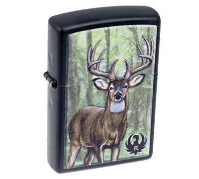 Painted Deer Zippo® Lighter