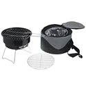 Caliente Portable Charcoal Grill & Cooler Tote