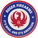 Ruger It's Mine. It's American. Decal
