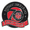 Ruger 70th Anniversary Pin