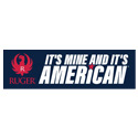 It's Mine and It's American Bumper Sticker®