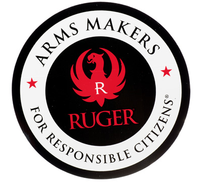 Ruger Stacked Arms Maker Decal - 4