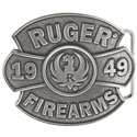 Ruger 1949 Antique Silver Tone Belt Buckle