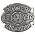 Ruger 1949 Antique Silver Tone Belt Buckle