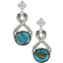 Sterling Lane High Spirits Turquoise Earrings