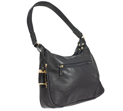 free delivery best deals on Super discount Hobo Style Purse with Holster - Black-ShopRuger
