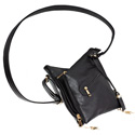 Cross Body Style Purse with Holster - Black