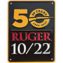 Ruger� 10/22� Anniversary Metal Sign