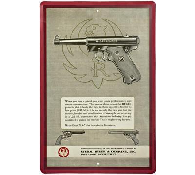 Ruger® Mark I Vintage Sign
