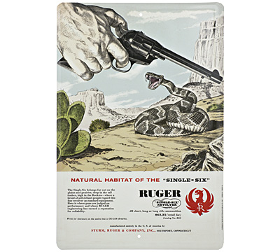 Ruger® Single-Six® Vintage Sign