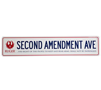 Second Amendment Avenue Sign